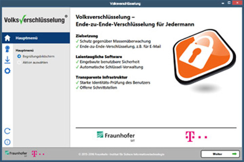 Volksverschluesselung Software Windows