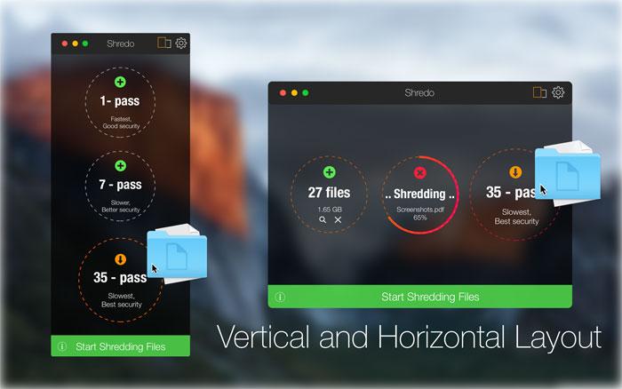 Shredo Mac App