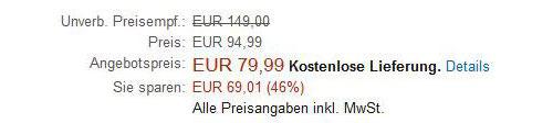 Amazon Aktionspreis Darstellung Mit Uvp
