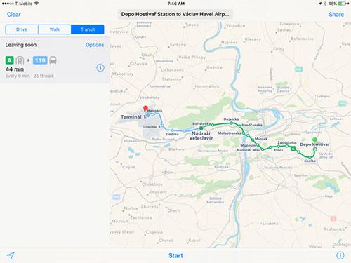 Prag Karte Europa.Apple Maps öpnv Informationen Für Dritte Europäische Stadt Ifun De