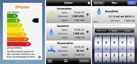 Bevorzugt Energieverbrauch im Griff: Zwei Apps zur Kontrolle der Strom-, Gas JH45