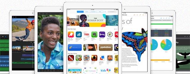 iPad Air inmitten der Android-Konkurrenz zum besten Tablet gekürt