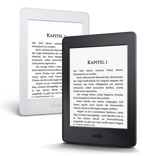 Kindle Paperwhite Weiss