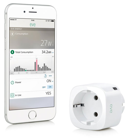 Eve Energy Elgato Homekit Steckdose