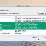 Find Empty Folder