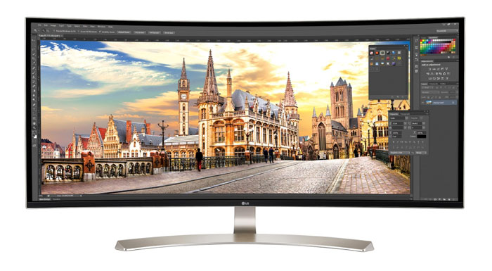 Lg 38UC99 W Curved 38 Zoll