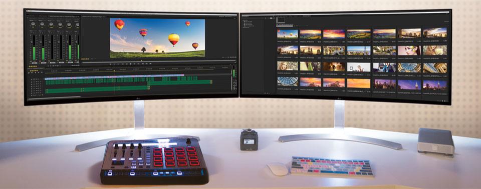 LG UltraWide-Monitor 38UC99-W: 38-Zoll-Schlachtschiff mit