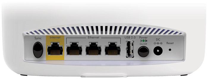 Netgear Orbi Router Anschluesse