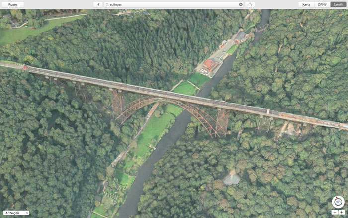 Solingen Bruecke Apple Flyover