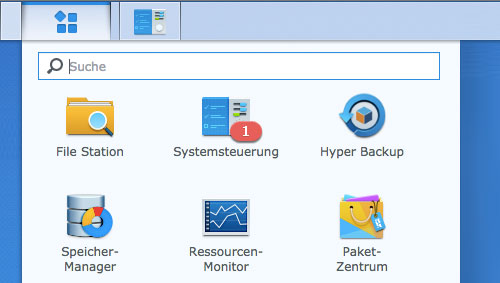 Synology Systemupdate