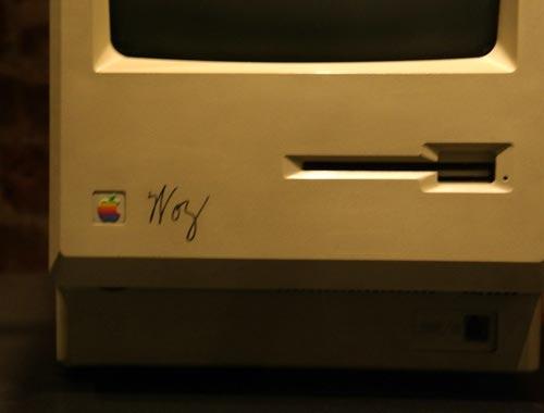 Tekserve Mac Woz Signatur