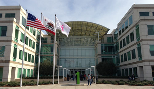 Apple Cupertino Infinite Loop 1