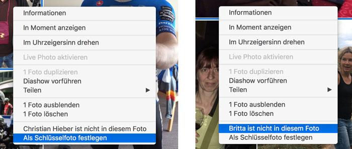 Apple Fotos Personen Korrigieren