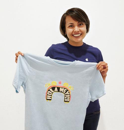 Apple Mexico T Shirt