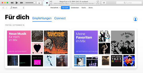 Apple Music In Itunes