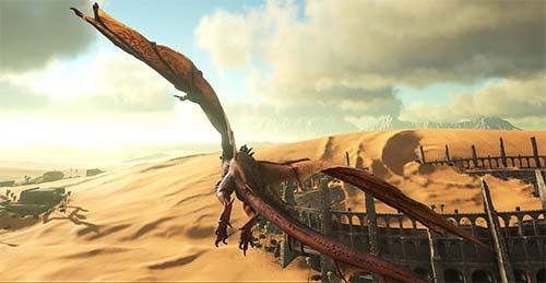 Ark Scorched Earth Wyvern Fly