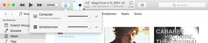 Itunes 12 Airplay Regler