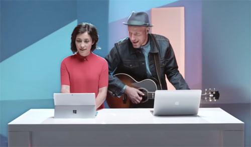 Microsoft Surface Werbung