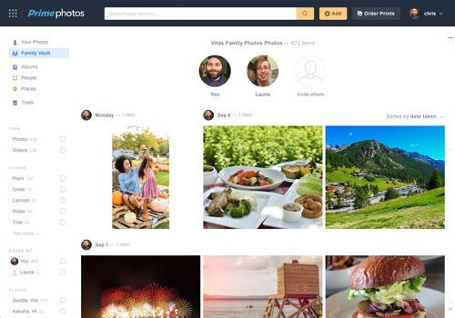 Amazon Family Vault