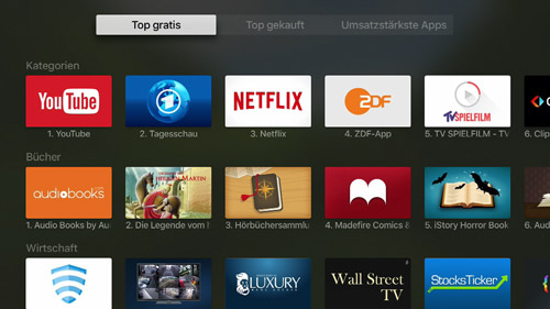 App Store Apple Tv Charts