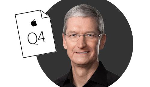 Apple Quartalszahlen Q4 2016
