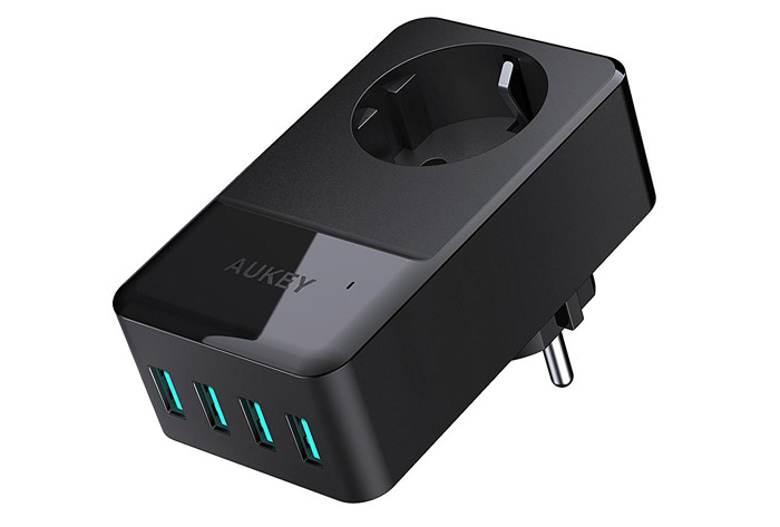 Aukey Usb Ladegeraet 4 Port