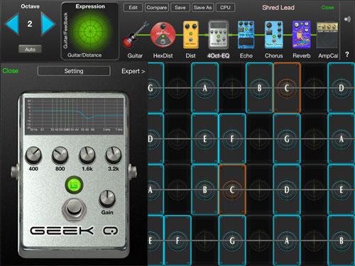 Geoshred App Screenshot