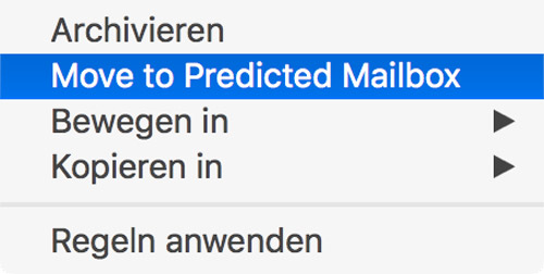 Macos Sierra Mail Move To Predicted Mailbox