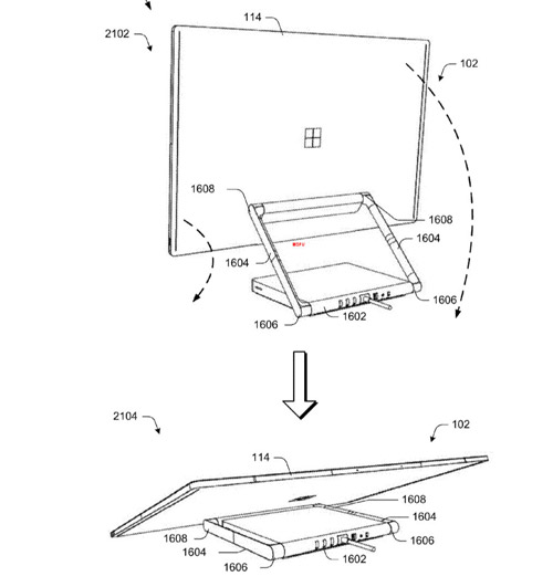 Microsoft All In One Patent