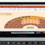 Touch Bar Microsoft Office Word