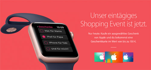 Black Friday Apple Deutschland
