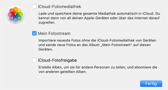 Icloud Fotos App Spam Abstellen