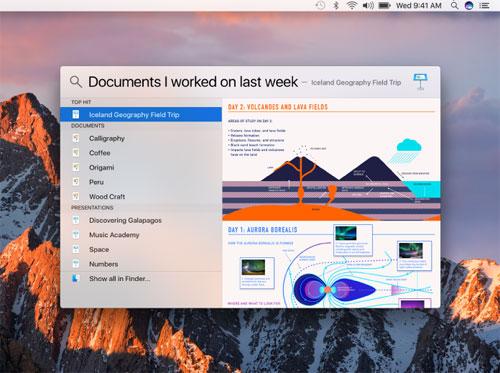 Mac Spotlight Suche