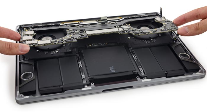 Macbook Pro Touch Bar Zerlegt
