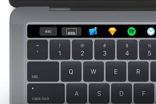 Rocket App Touchbar 500