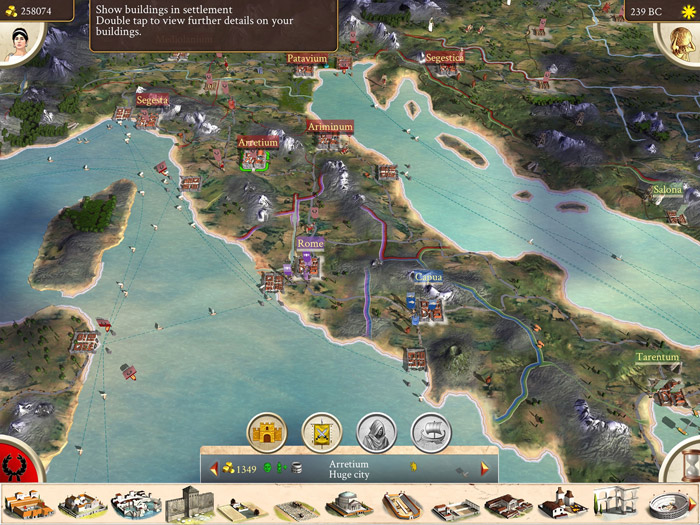 Rome Total War Ipad Screenshot 2