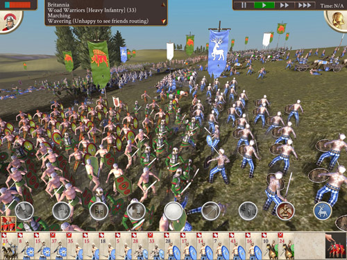 Rome Total War Ipad Screenshot