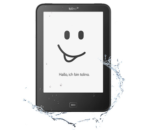 Toline E Book Reader Wasserfest