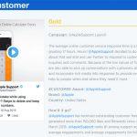 Twitter Gold Fuer Apple Kundendienst