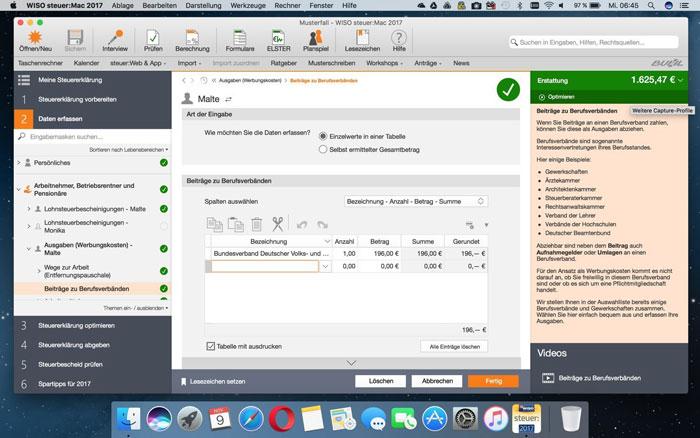 Wiso Steuer Mac 2017