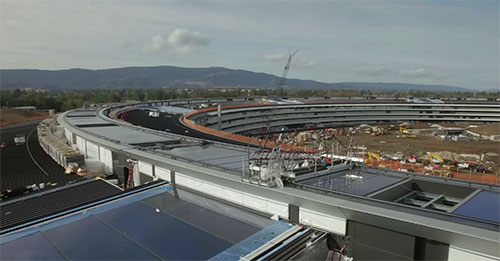 Apple Campus 2 Kurve