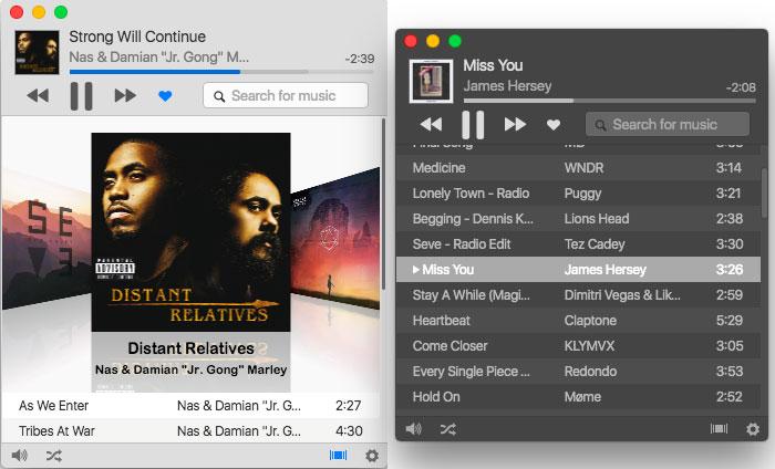 Harmony Mac Suchfenster