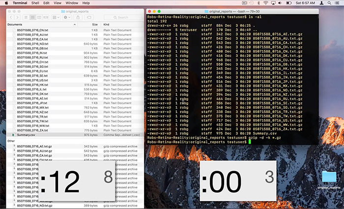 Mac Finder Vs Termina Entpacken