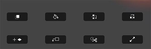 Touch Bar Elemente