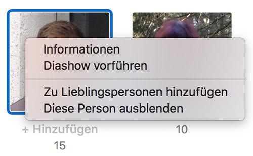 Apple Fotos App Ausblenden
