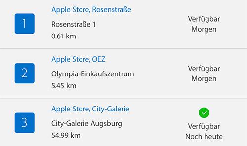 Apple Lg Lieferzeit