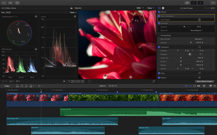Final Cut Pro Mac Screenshot