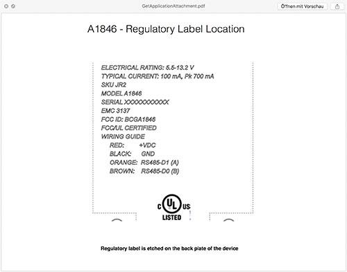 Label Location