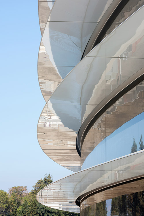 Apple Park Fassade