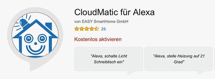 Cloudmatic Alexa Skill